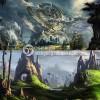 震撼【原画集】欧美场景 科幻氛围 角色插画 游戏素材 CG绘画图集