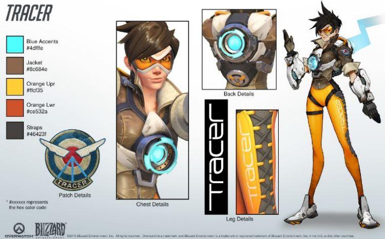 守望先锋游戏原画图片壁纸素材人物概念设定集漫画本子CG动画素材下载
